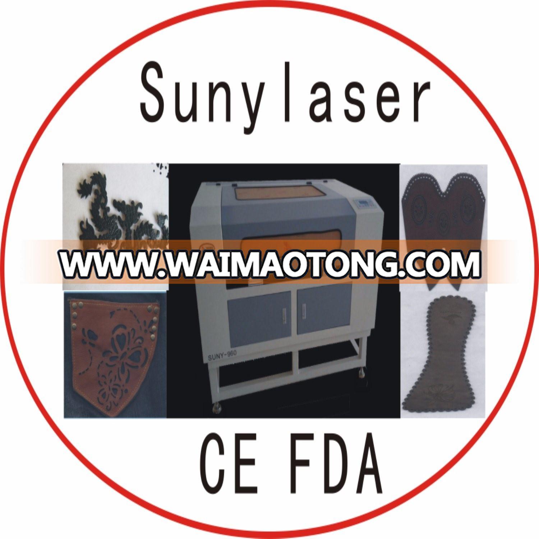 Leather Laser Cutter& Laser Engraver 900X600mm