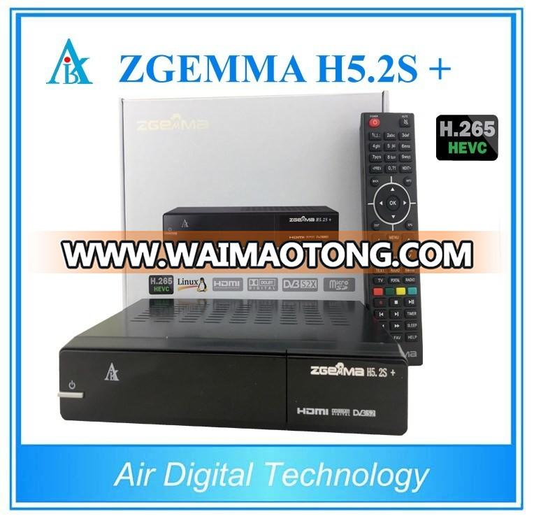 DVB-S2 + DVB-S2X + DVB-T2/C Multi Stream Satellite TV Decoder Zgemma