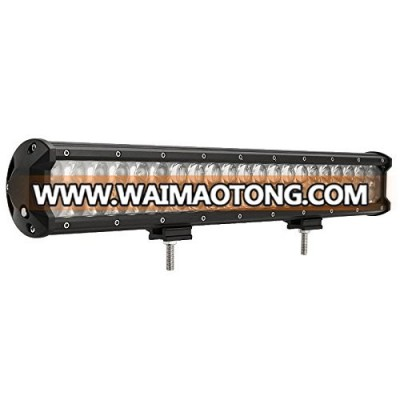 8.8inch Single Row 3D Optical Lens Off road Led Light Bar 30W 2550LM