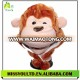 Warm Winter Gorilla Plush Animal Head Hats Wholesale