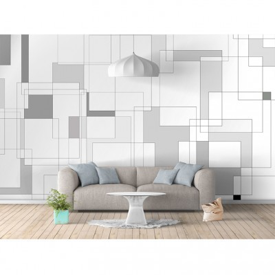 Seamless bedroom living room study wallpaper minimalism modern sofa TV background wall UV seamless wallpaper wallpaper