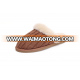 Chestnut Knitting Wool Sheepskin Slippers for Women
