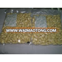 Vacuum package high quality peeled fresh garlic cloves