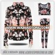 Custom sublimated colorful mens womens girls sexy tight leggings / high waist yoga pants / wholesale fitness athletic wear
