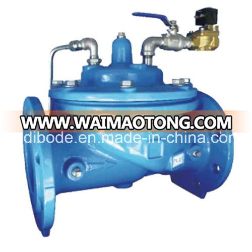 Solenoid Float Control Double Safety Valve