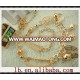 2017 New Product Color ladies hotsale wholesale gold.long aluminum/rion.links loop silver fashion women chain belts for women