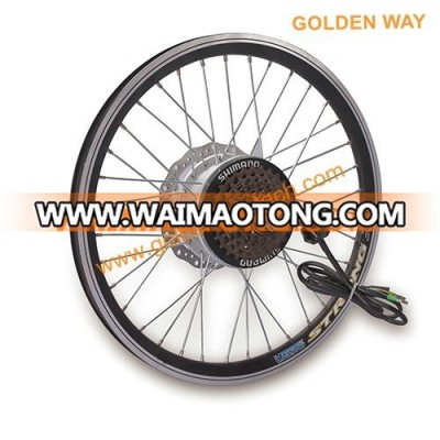 electric bike wheel motor, front rear wheel brushless electric bicycle geared hub motor
