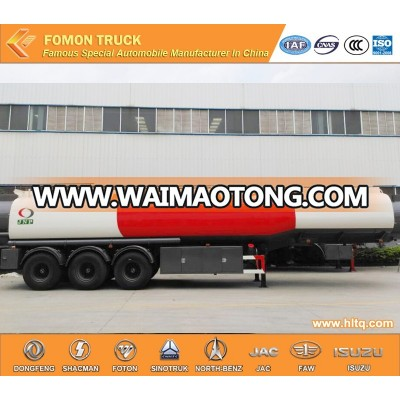 3 axles 35-45m3 oil semi trailer factory direct high quality