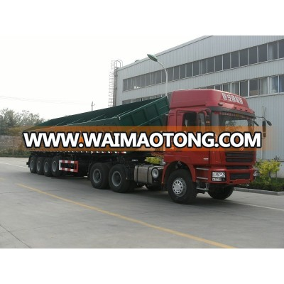 3 Axles Side Lifting Dump Semi trailer Tipper Semi Trailer for sale