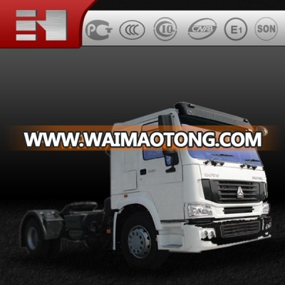 Sinotruk Howo 6 wheels 4x2 mini tractor truck and trailer