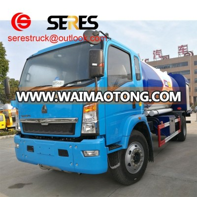 20MT cheap water and fire 10000 oil supplying tanker crude oil truck