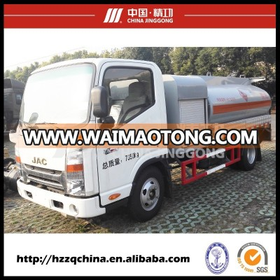JINGGONG mobile gas refueling tank trucks for custom