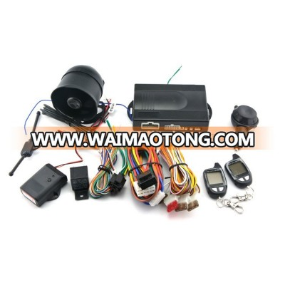 High quality two way car alarm system with remote engine start