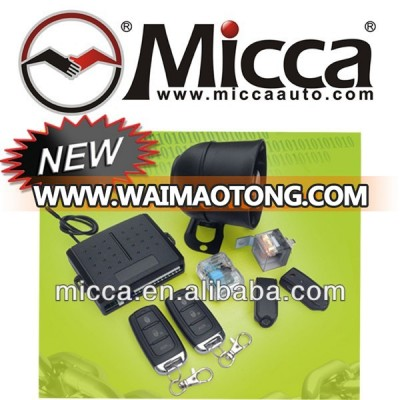 MICCA rolling code car security alarm system with universal central door locks, Oto Alarm Sistemleri, Autoalarmy(OW350)