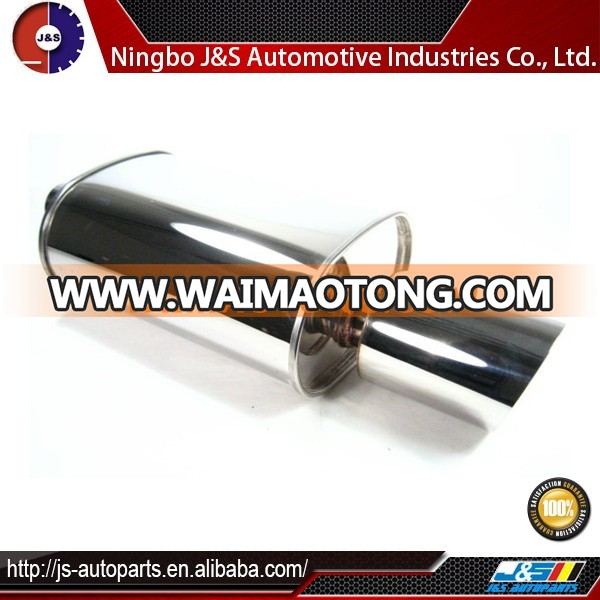 Inlet stainless steel exhaust resonator muffler best