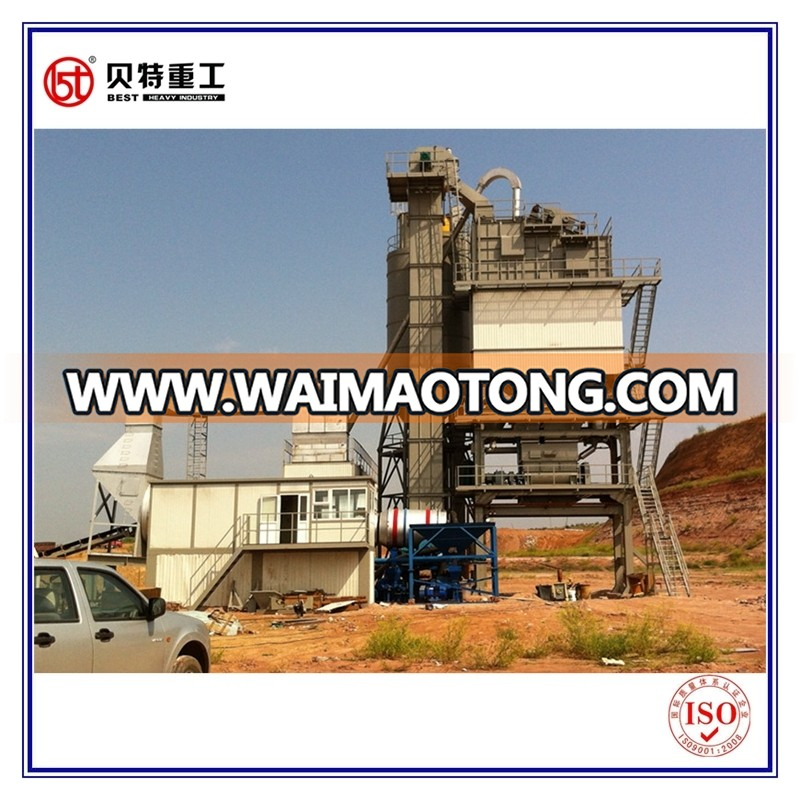 Customized Energy Saving Environmental Protection 80-400t/H (LB1000-5000) Asphalt Mixing Equipment with Modular Design
