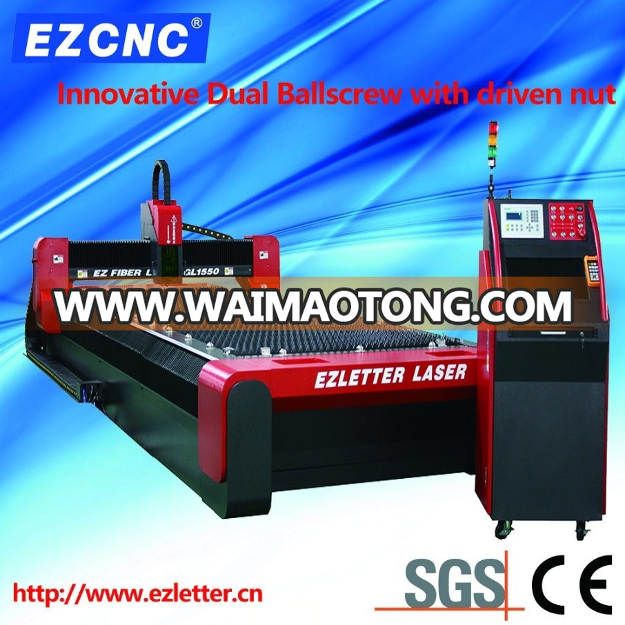 Ezletter Dual Ball Screw Transmission CNC Stainless Steel Cutting Machine (GL1550)