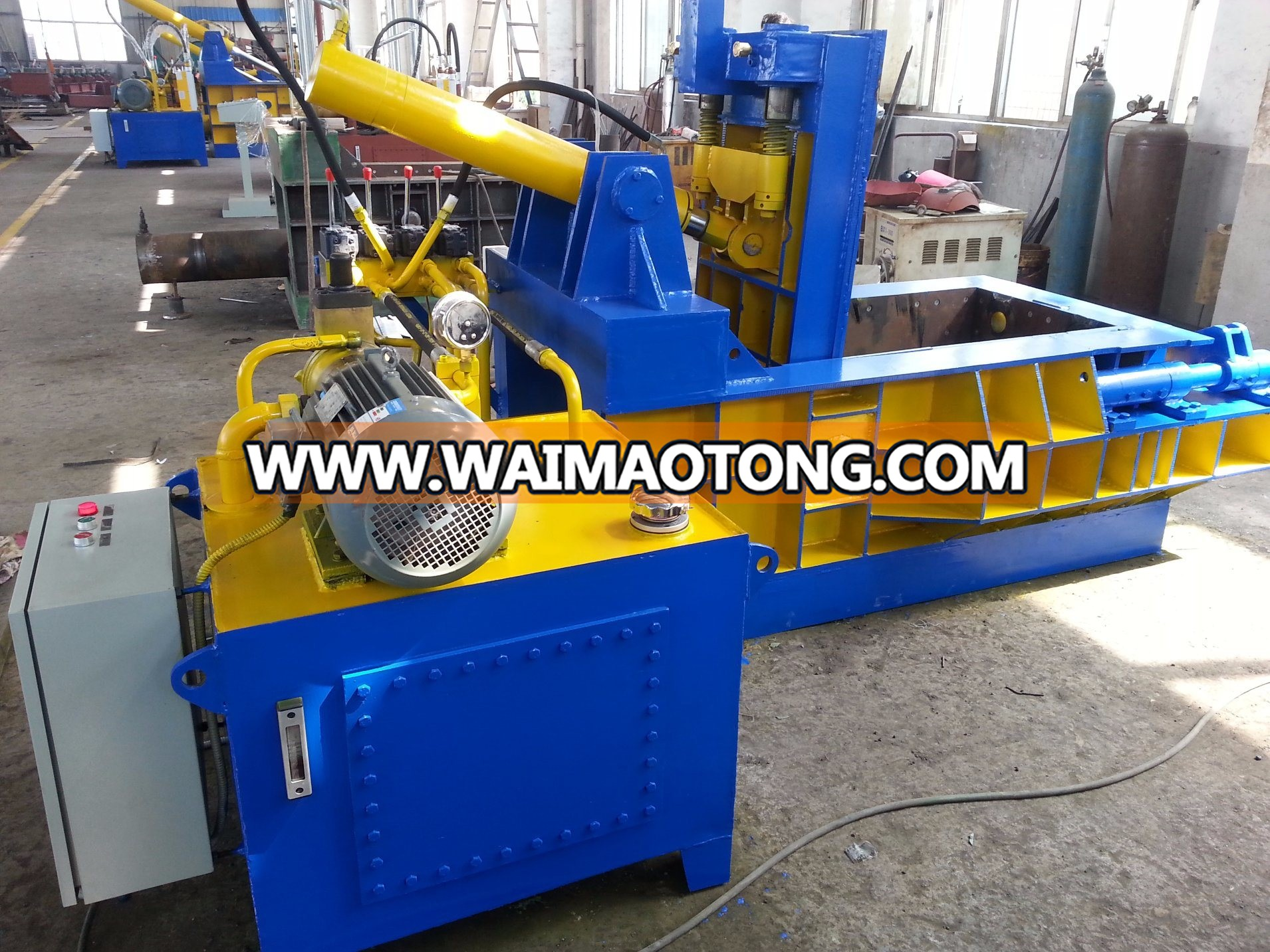 Hydraulic Scrap Metal Compress Packaging / Baling Machine
