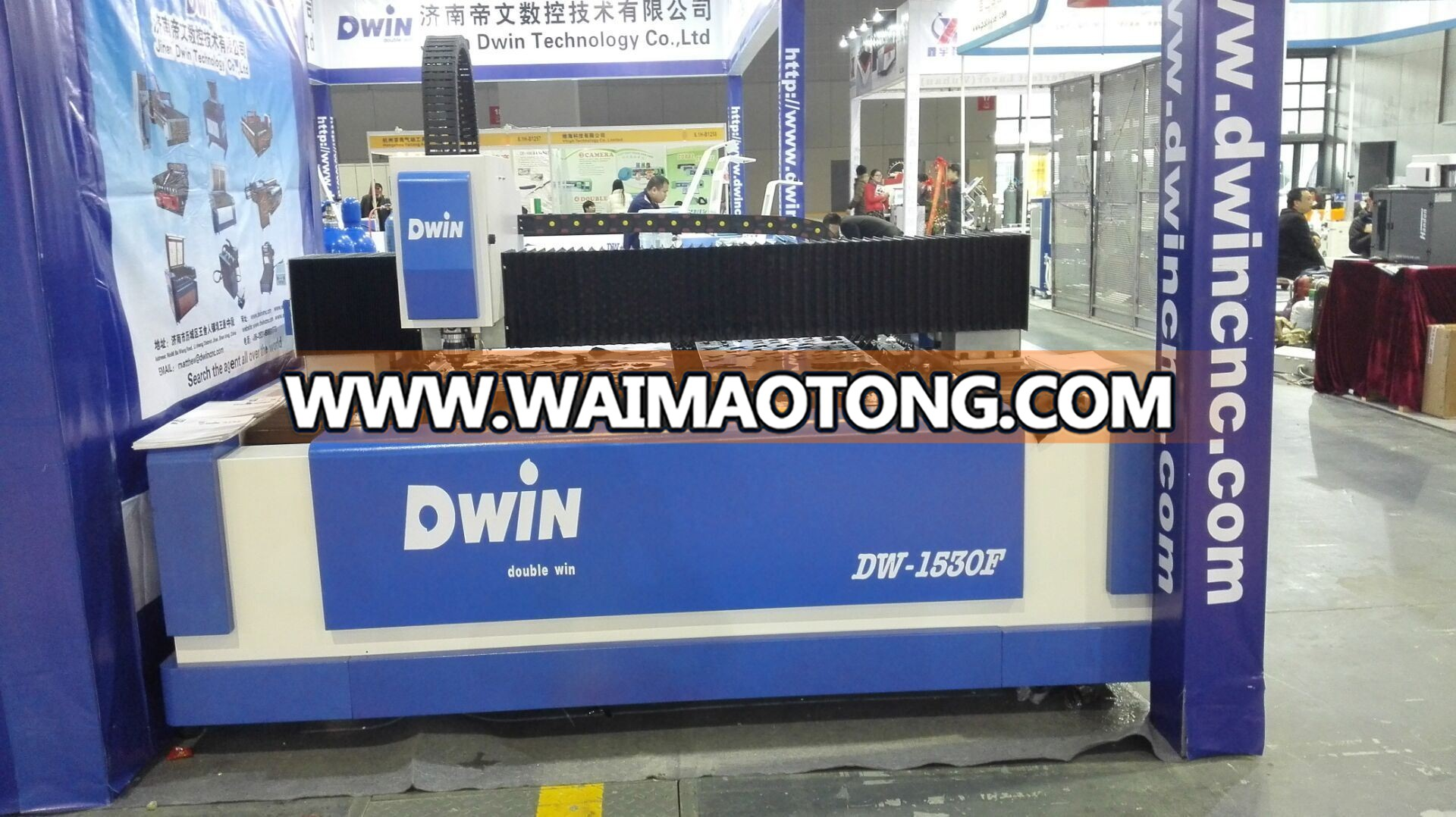 750W Raycus Fiber Laser Cutting Machine (DW1530)