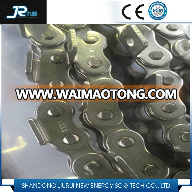 Ce Certificate Steel Single Strand Transmission Conveyor Roller Chain