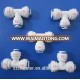 POM material water filter spare parts quick connector fitting