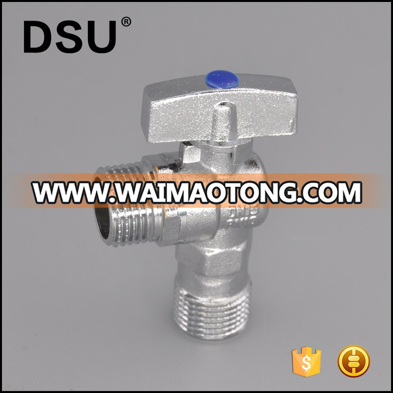 Forged male thread brass angle valve