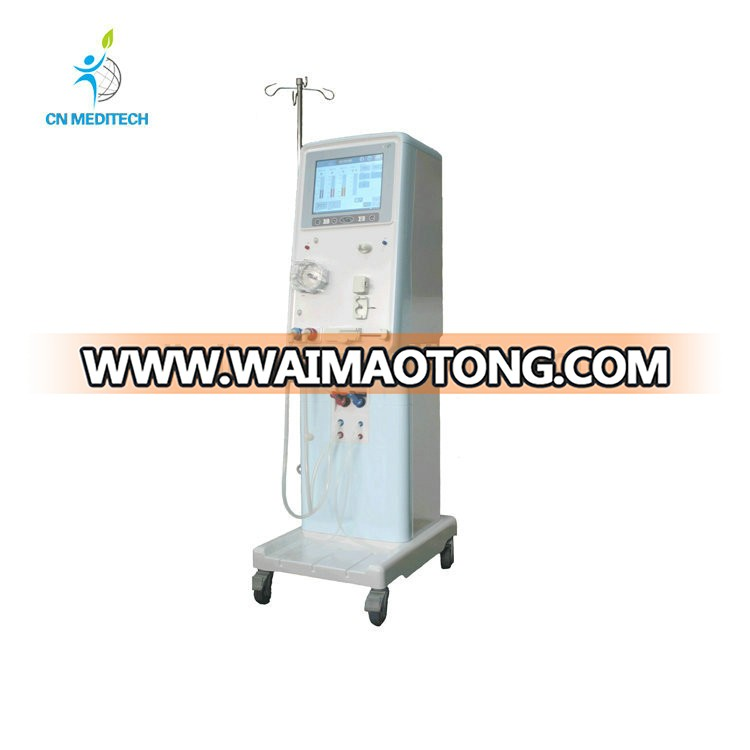 Hot sales dual-control supervising system multrifunction individual dialysis machine for sale