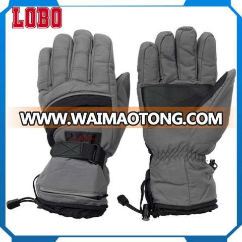 Wholesale custom ladies black warm water proof ski mens women winter gloves touch screen gloves