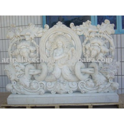 Statue-carved Marble