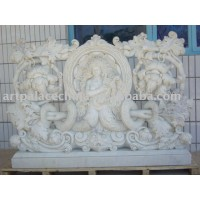 Statue-carved Marble Balustrade