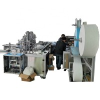 factory price fast production disposable mask machine