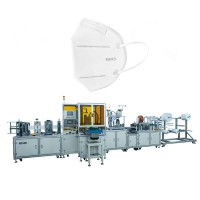Fully automatic folding face mask machine n95 on sale