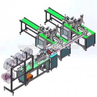 FAST DELIVERY  Disposable n95 mask production machine line