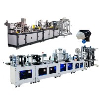 full automatic production line 3 layer folded disposable auto facial cup face mask machine n95 autom