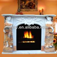 Western beauty electric fireplace