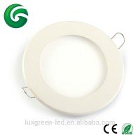 New round smd 2835 ultra thin led panel light for indoor lighting